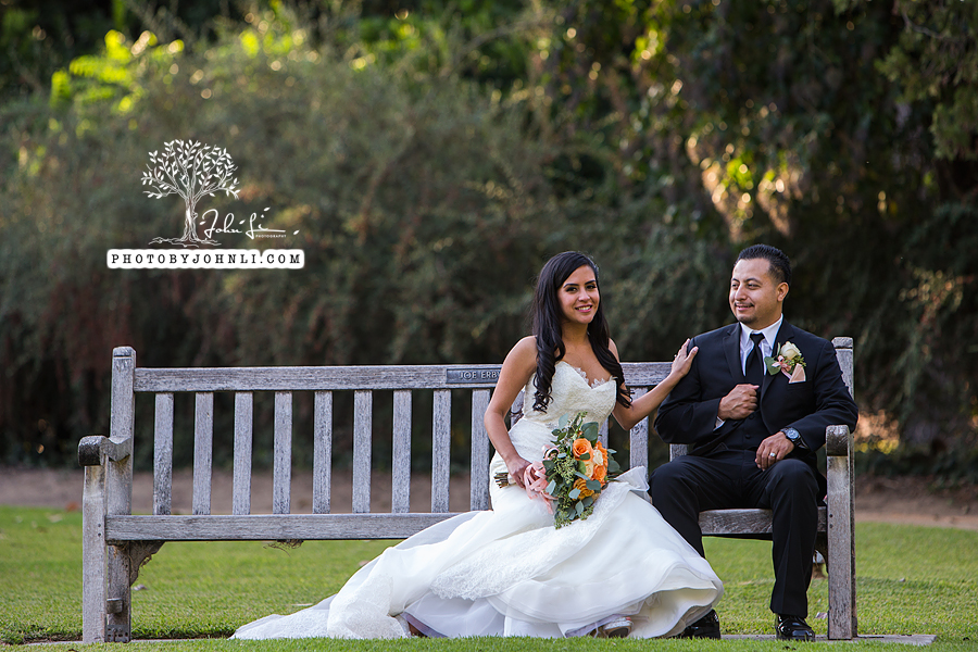 029 Los Angeles County Arboretum and Botanic Garden wedding