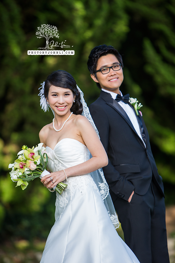 005 Wayfarers chapel Wedding Ceremony PV Wedding Photography