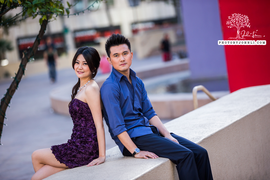 002 Engagement photography downtown LA