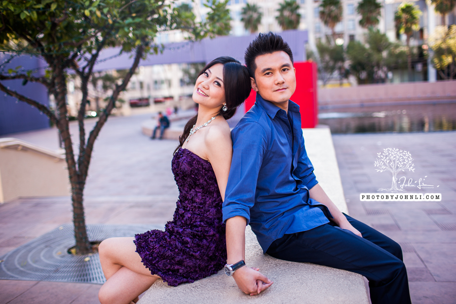 003 Engagement photography downtown LA