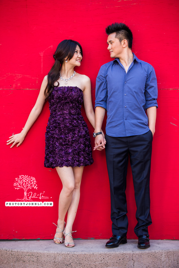 004 Engagement photography downtown LA
