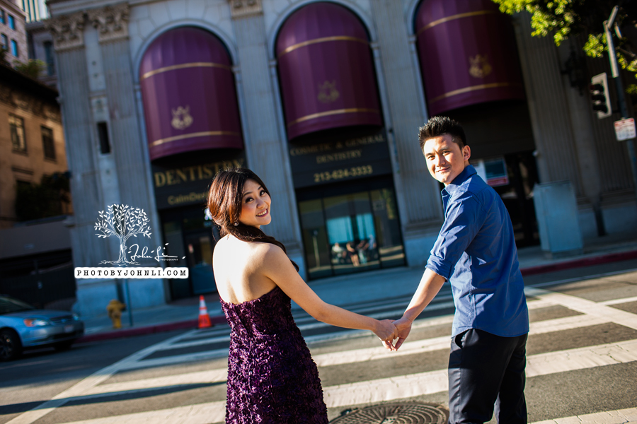 006 Engagement photography downtown LA