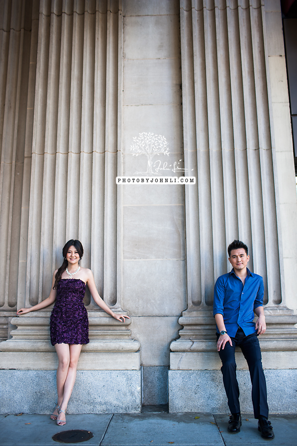 009 Engagement photography downtown LA
