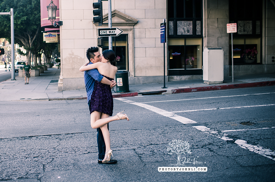 010 Engagement photography downtown LA