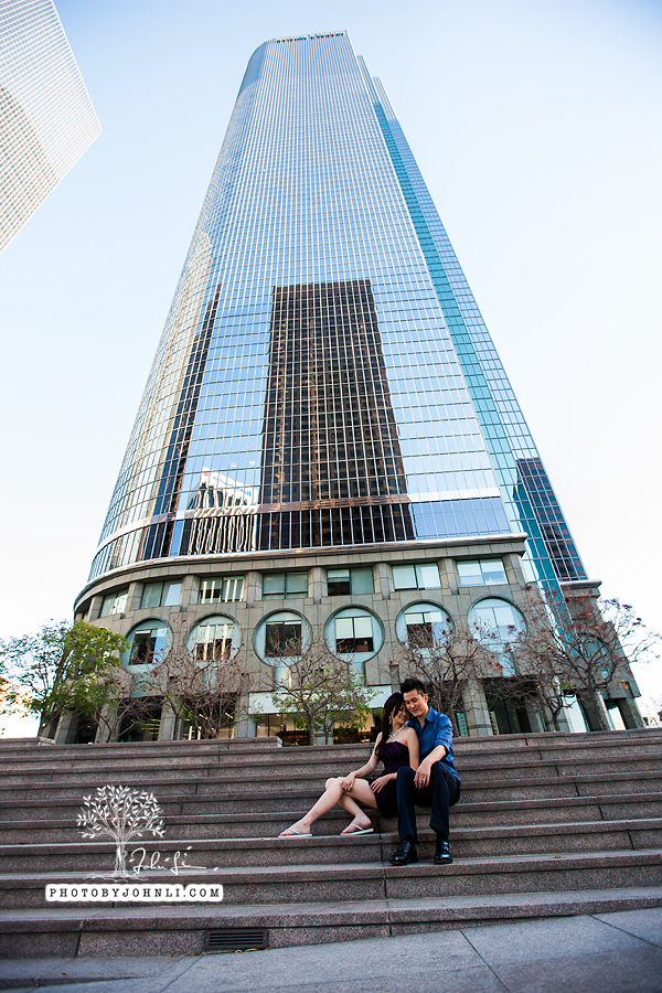 012 Engagement photography downtown LA