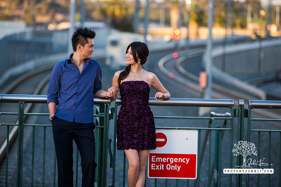 015 Engagement photography downtown LA