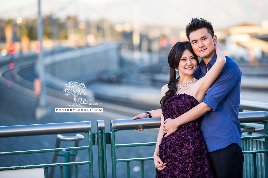 016 Engagement photography downtown LA