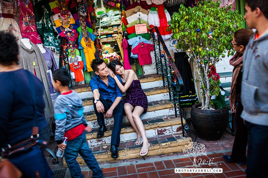 028 Engagement photography downtown LA