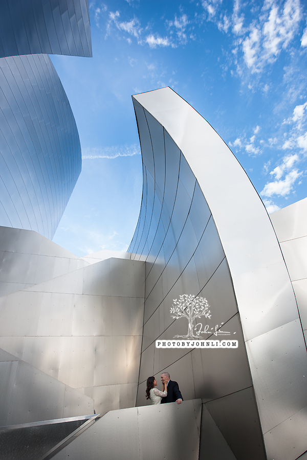 05 Walt Disney Concert Hall engagement Photography