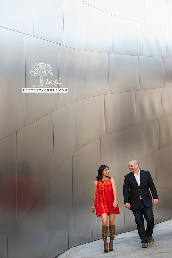 10 Walt Disney Concert Hall engagement Photography