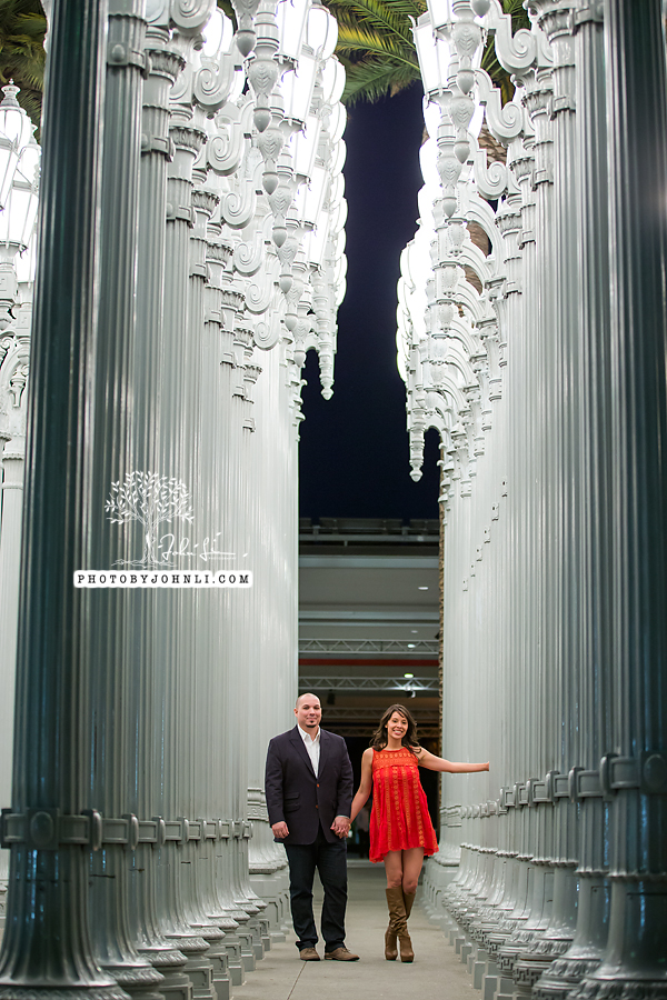 17 lacma  engagement Photography
