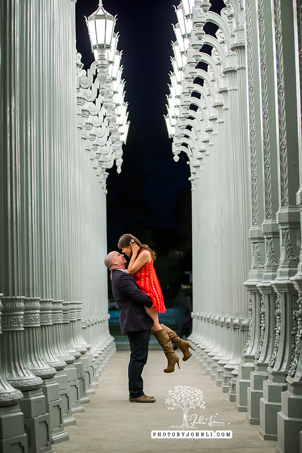19 lacma  engagement Photography