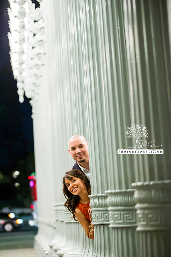 20 lacma  engagement Photography
