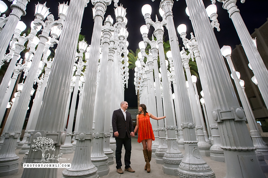 24 lacma  engagement Photography