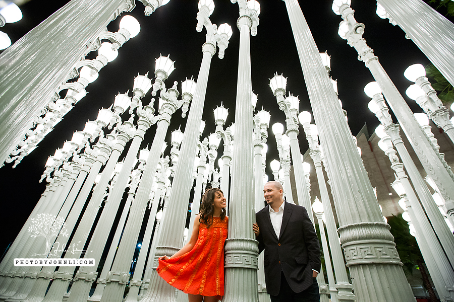 25 lacma  engagement Photography