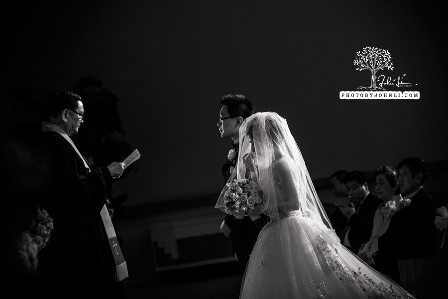 031 Chinese Wedding PhotographyMandarin Baptist Church Ceremony