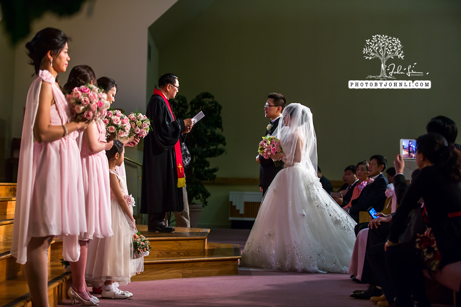 032 Chinese Wedding PhotographyMandarin Baptist Church Ceremony