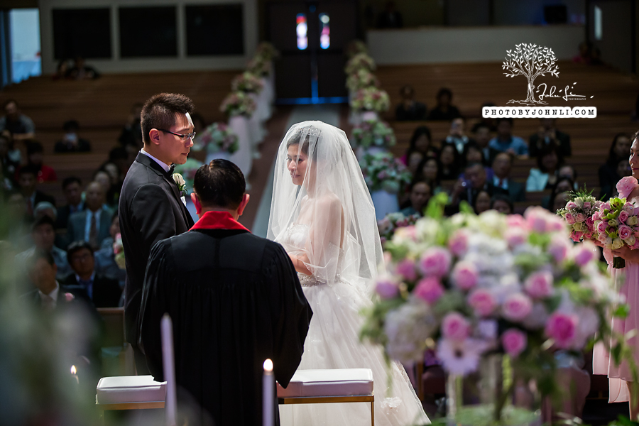 035 Chinese Wedding PhotographyMandarin Baptist Church Ceremony