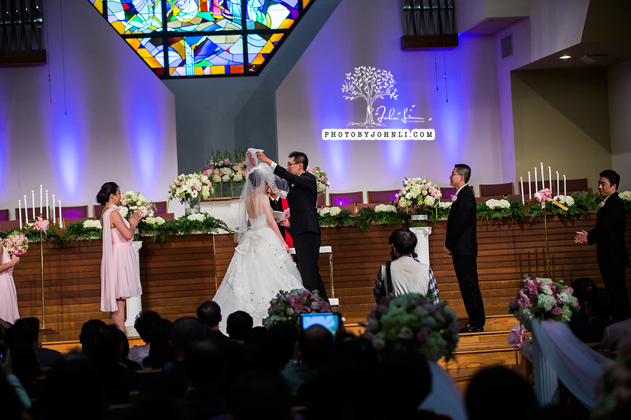 040 Chinese Wedding PhotographyMandarin Baptist Church Ceremony