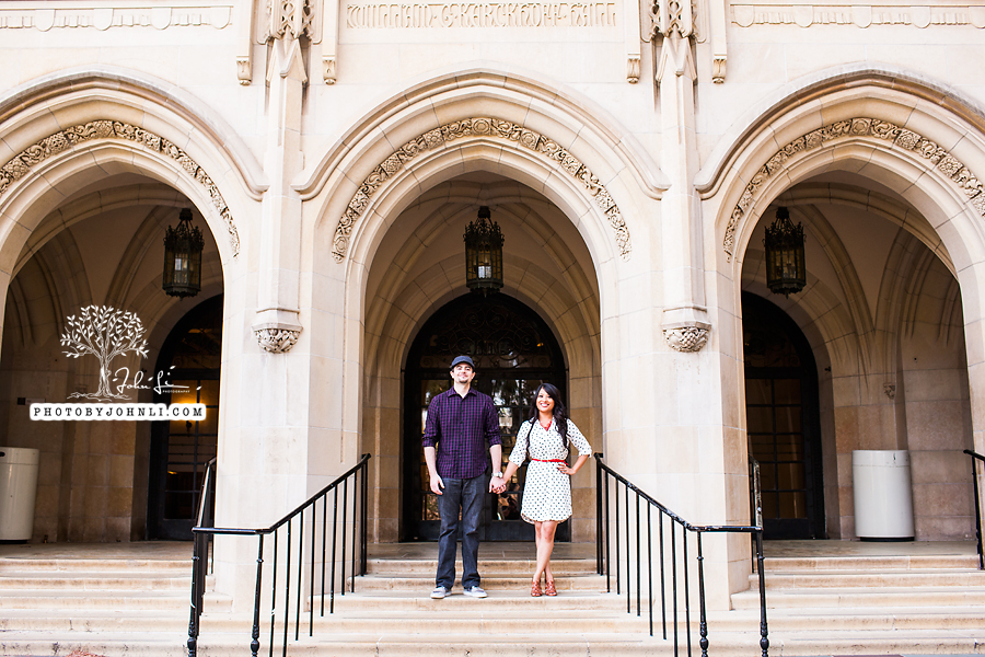 015 UCLA Engagement Photography