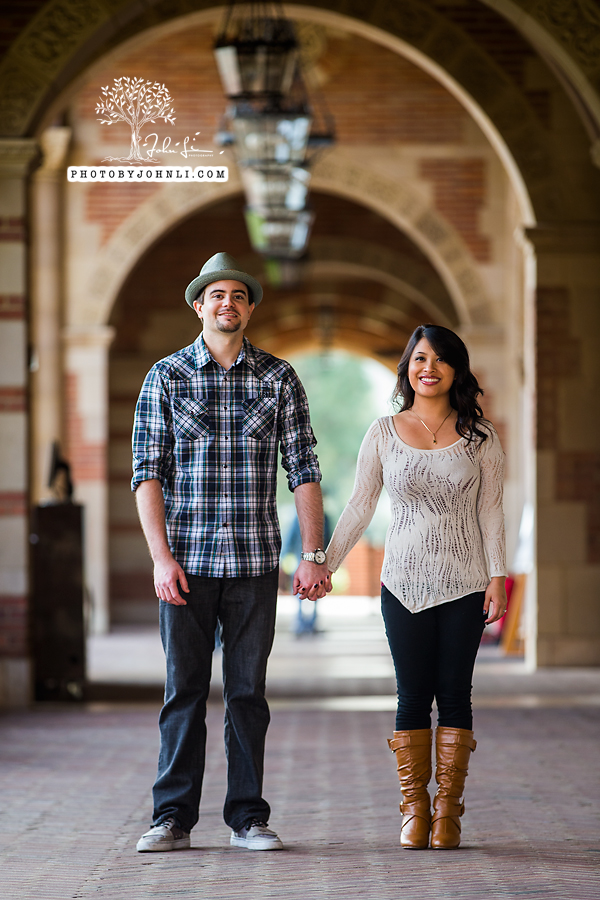 017 UCLA Engagement Photography