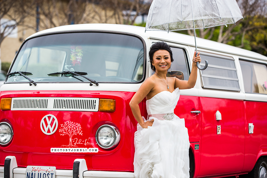019 Orange County Wedding Photography  with vw van