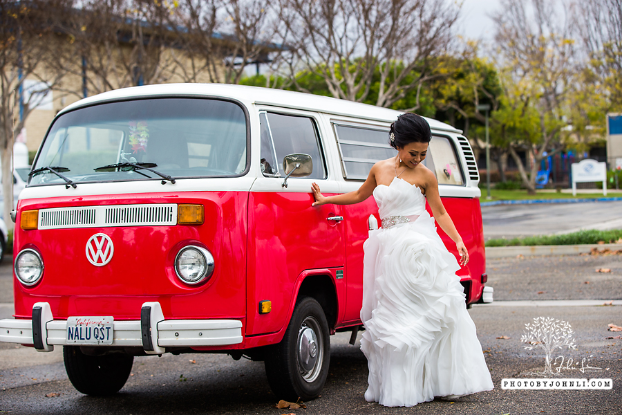 020 Orange County Wedding Photography  with vw van