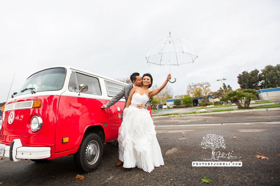 023 Orange County Wedding Photography  with vw van
