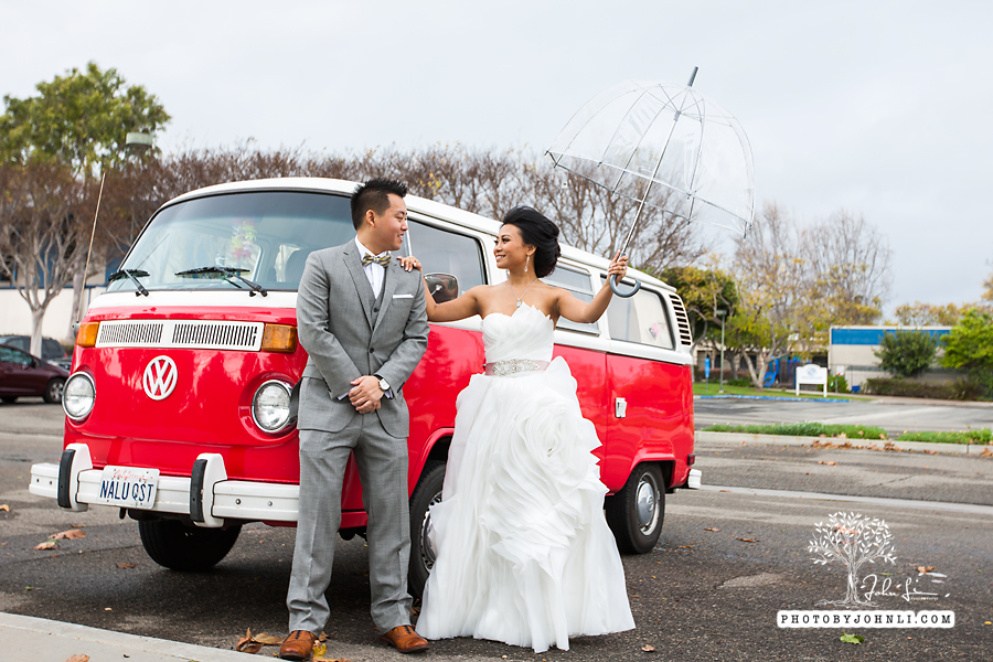 025 Orange County Wedding Photography  with vw van