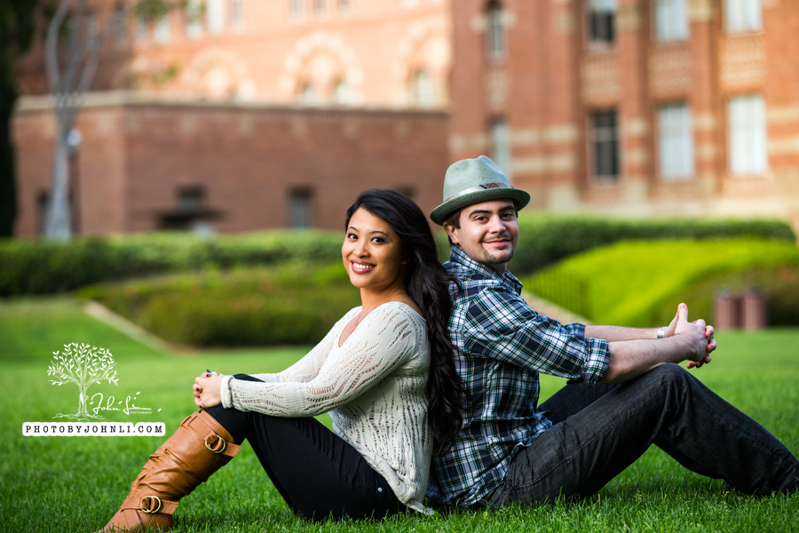 025 UCLA Engagement Photography