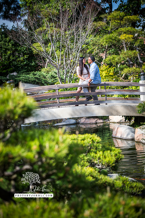 006Japanese Garden Engagement UC Long Beach