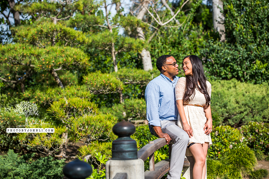 008Japanese Garden Engagement UC Long Beach