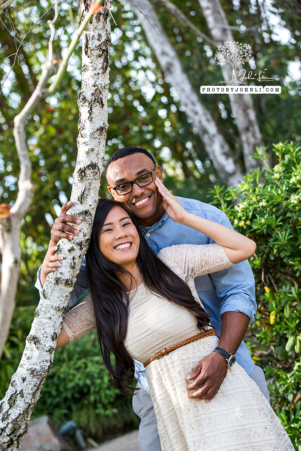 009Japanese Garden Engagement UC Long Beach