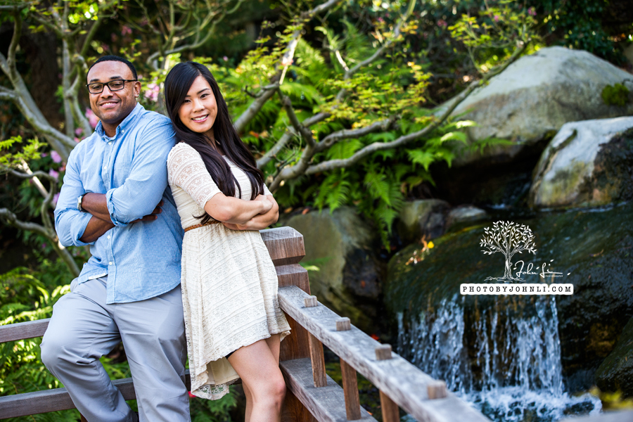 014Japanese Garden Engagement UC Long Beach