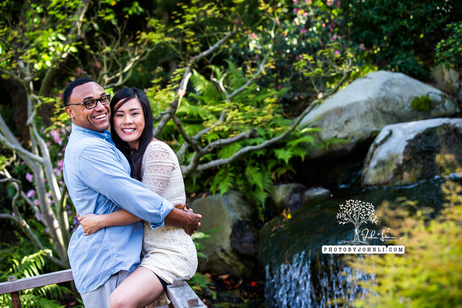 015Japanese Garden Engagement UC Long Beach