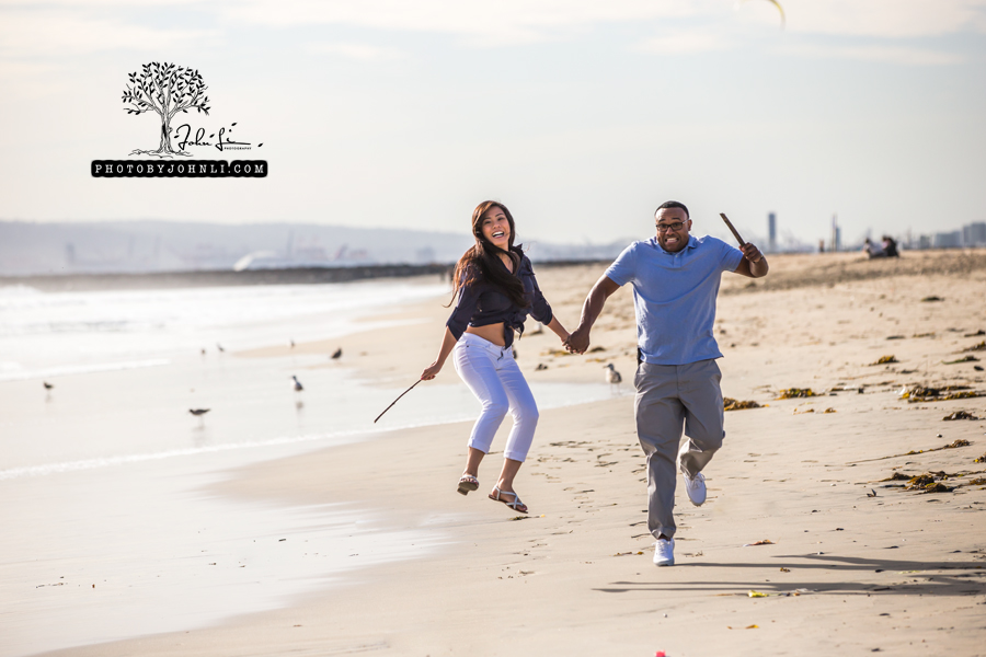 021 Seal Beach  Engagement Photography