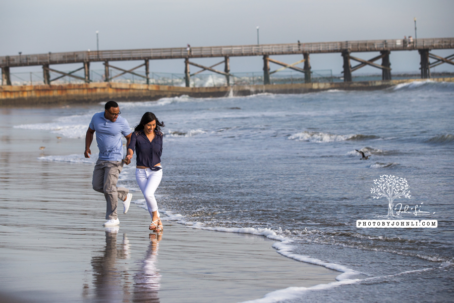 022 Seal Beach  Engagement Photography