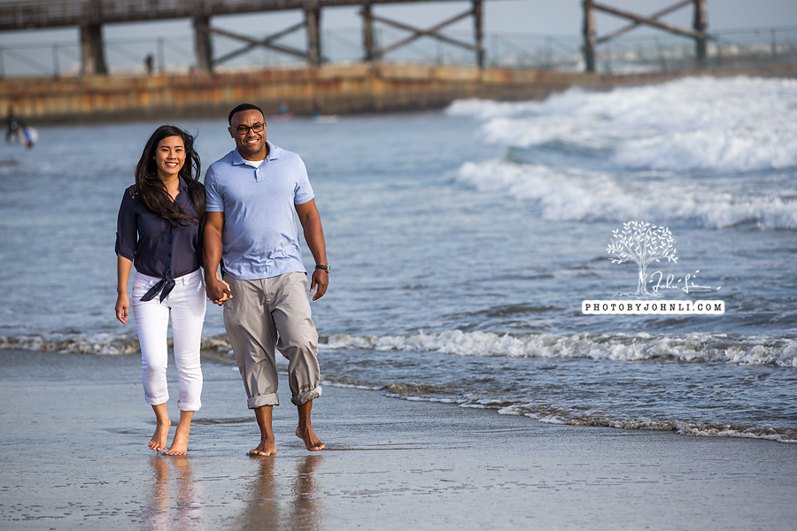 023 Seal Beach  Engagement Photography