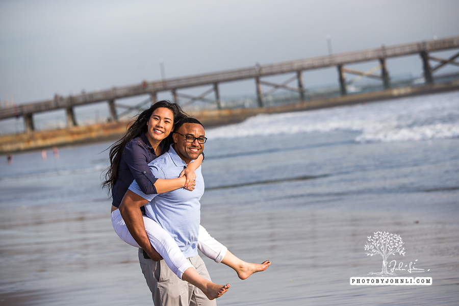 025 Seal Beach  Engagement Photography