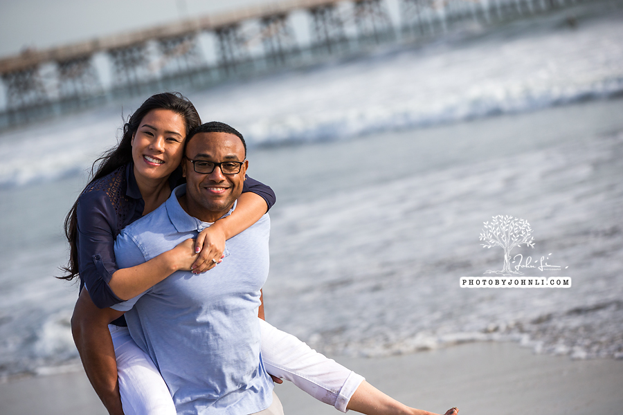 026 Seal Beach  Engagement Photography