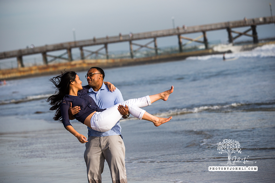 027 Seal Beach  Engagement Photography