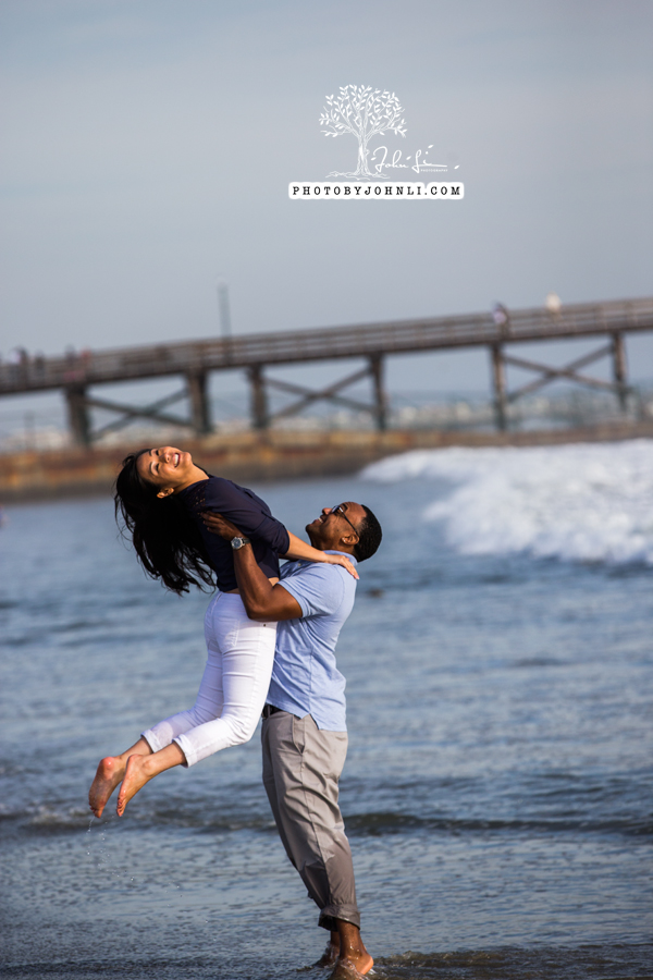 028 Seal Beach  Engagement Photography