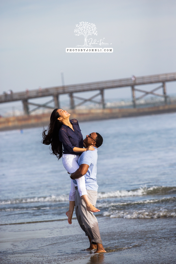 029 Seal Beach  Engagement Photography