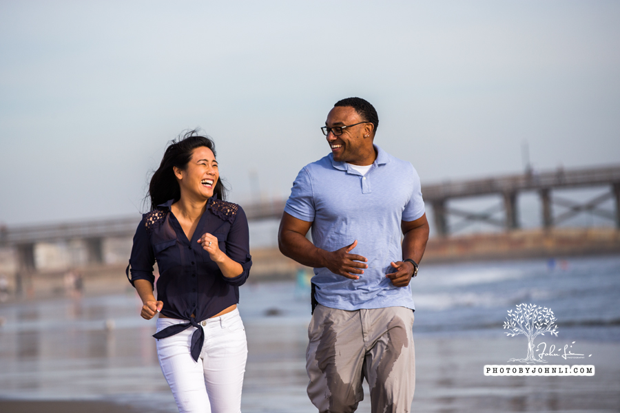 030 Seal Beach  Engagement Photography