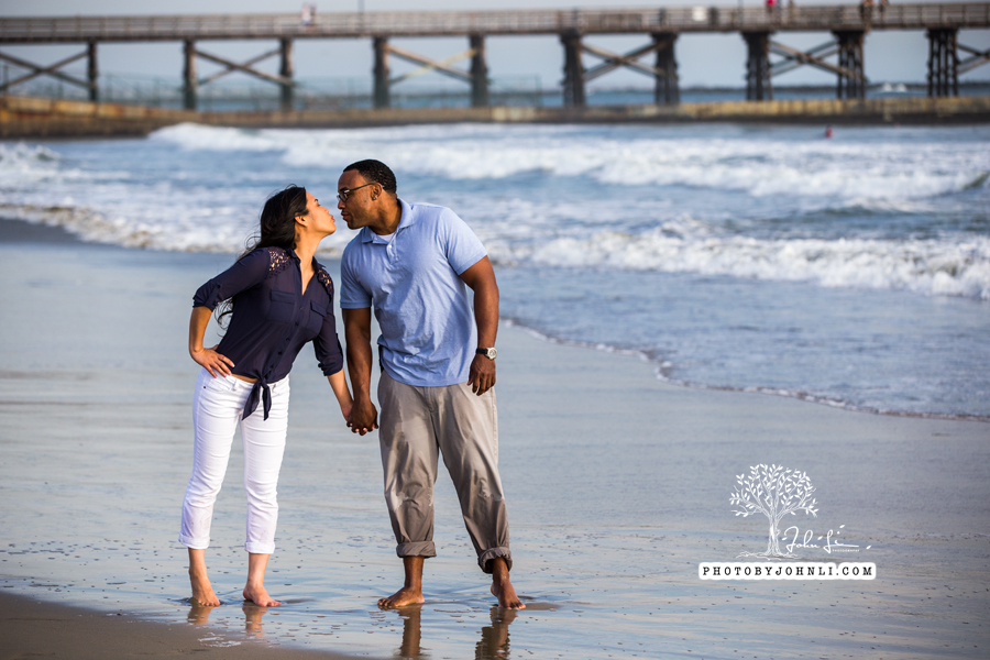031 Seal Beach  Engagement Photography