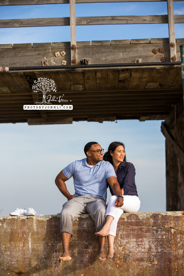 032 Seal Beach  Engagement Photography