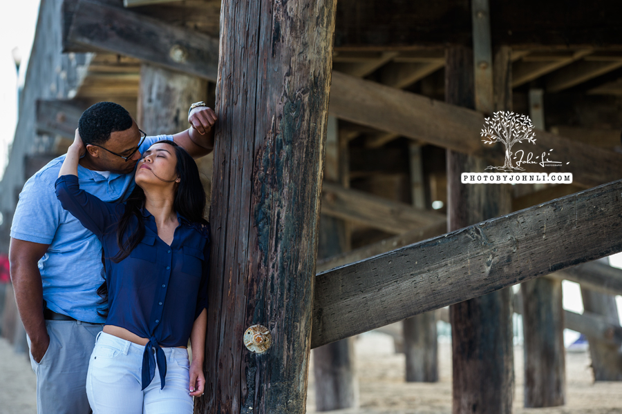 034 Seal Beach  Engagement Photography
