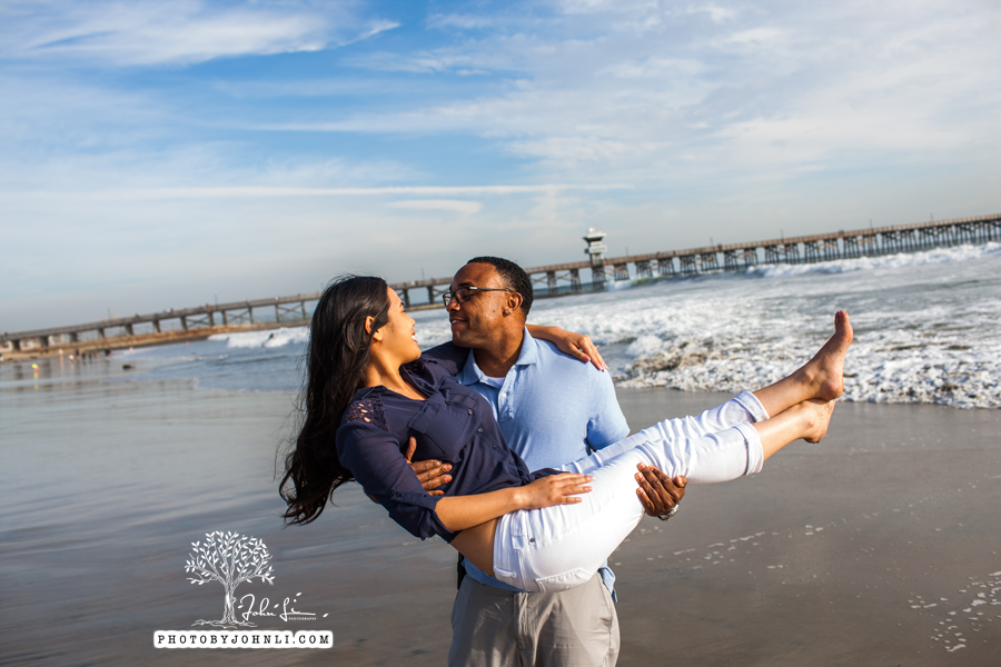 037 Seal Beach  Engagement Photography