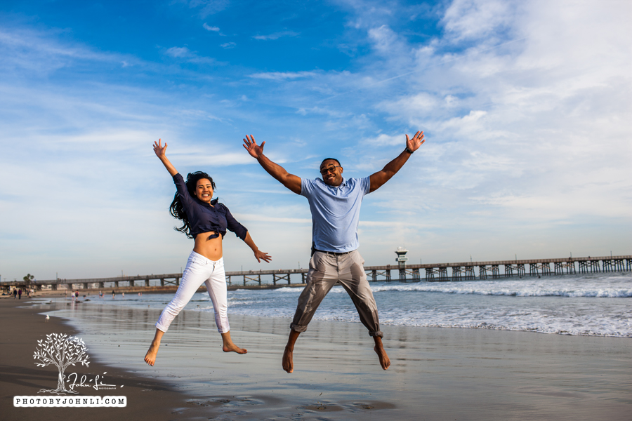 038 Seal Beach  Engagement Photography