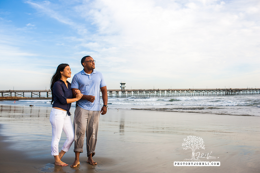 039 Seal Beach  Engagement Photography